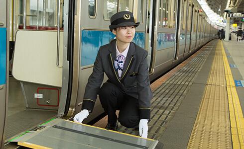 小田急線の駅員バイト募集