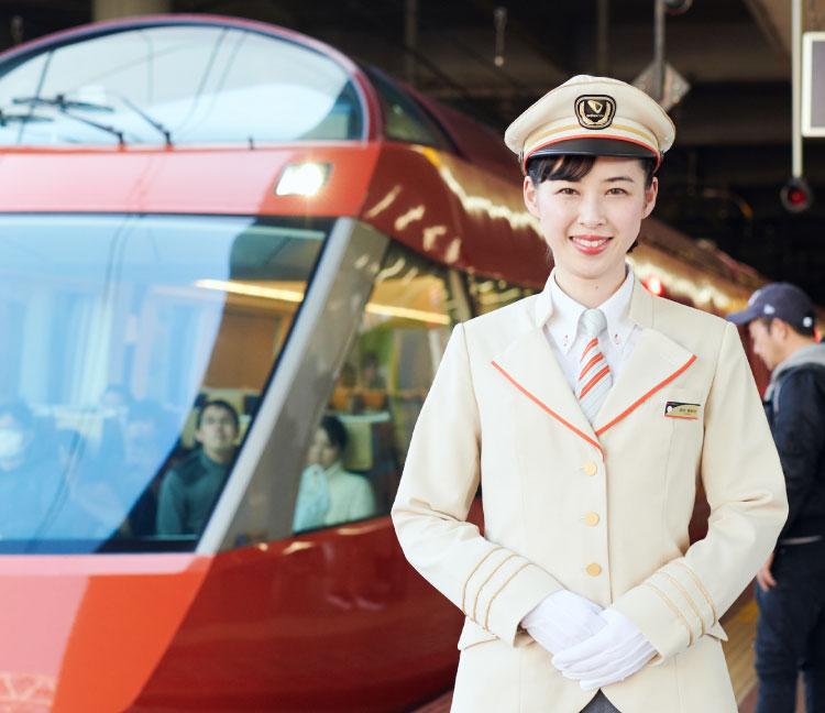社員紹介(運転士)|高卒採用情報│小田急電鉄