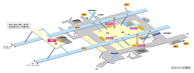 図 構内 戸塚 駅