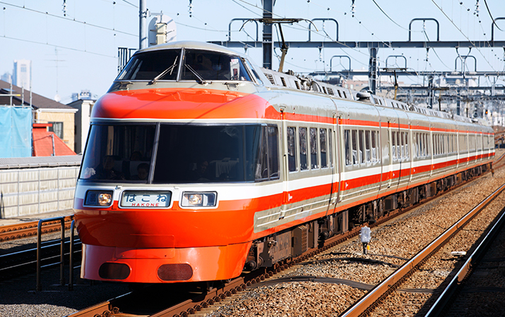 Limited Express Romancecar 7000형 LSE차