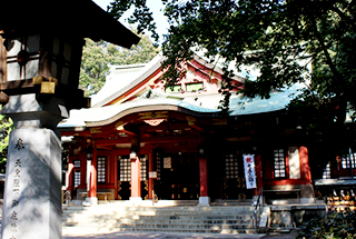 Setagaya Hachiman-gu shrine
