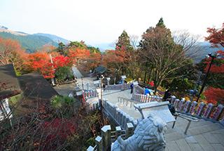 大山寺是大山的象徵,珍貴的佛像值得一看