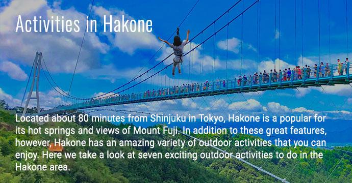 Activities in Hakone