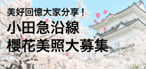 http://小田急沿線櫻花美照大募集