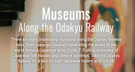 Museums Along the Odakyu Railway