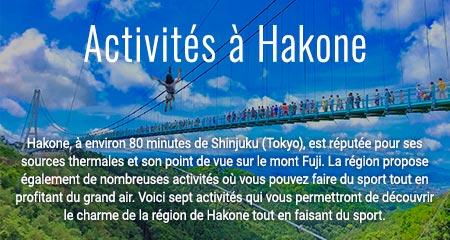 Activités à Hakone