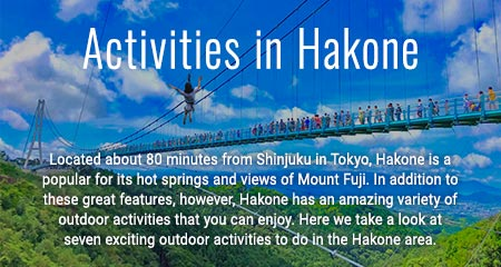 Activities in Hakone