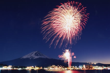 Lake Kawaguchi Fireworks