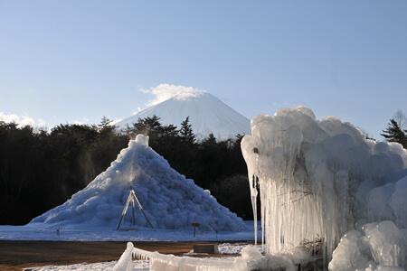 사이코 호수 수빙 축제
