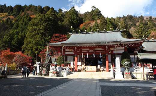 A quiet shrine with a long history