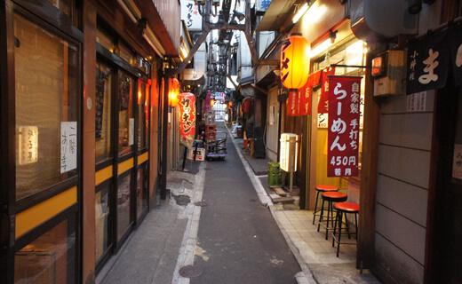 餐飲勝地「新宿」