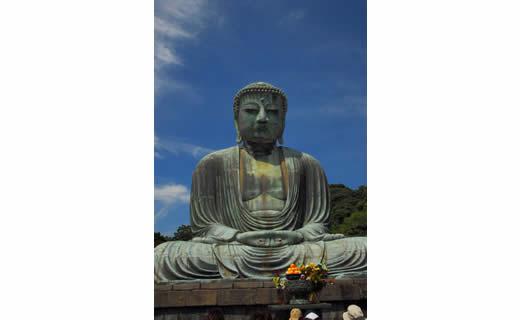 鐮倉的象征——大佛像