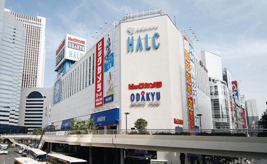 HALC สถานีชินจูกุ ทางออกทิศตะวันตก