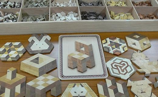 金指寄木工藝館 (畑宿)