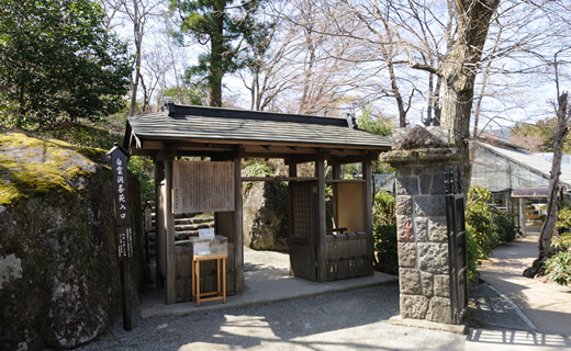 茶室−白雲洞茶苑(箱根強羅公園)