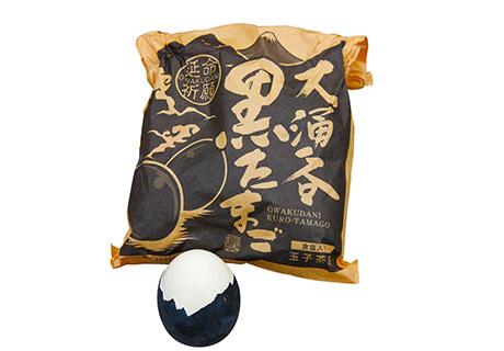 오와쿠다니의 검은 계란