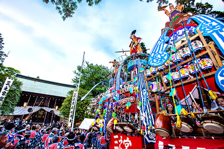 Hinata Yakushi Annual Spring Festival